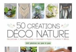 50 créations déco nature (documentaire adulte)