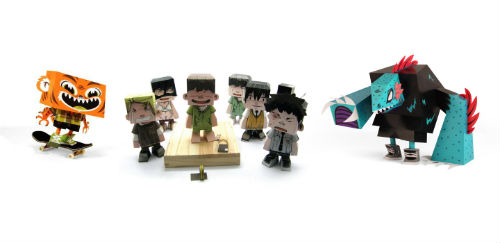 Paper toys portail